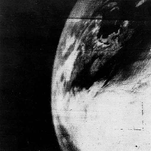 first satellite image, Tiros