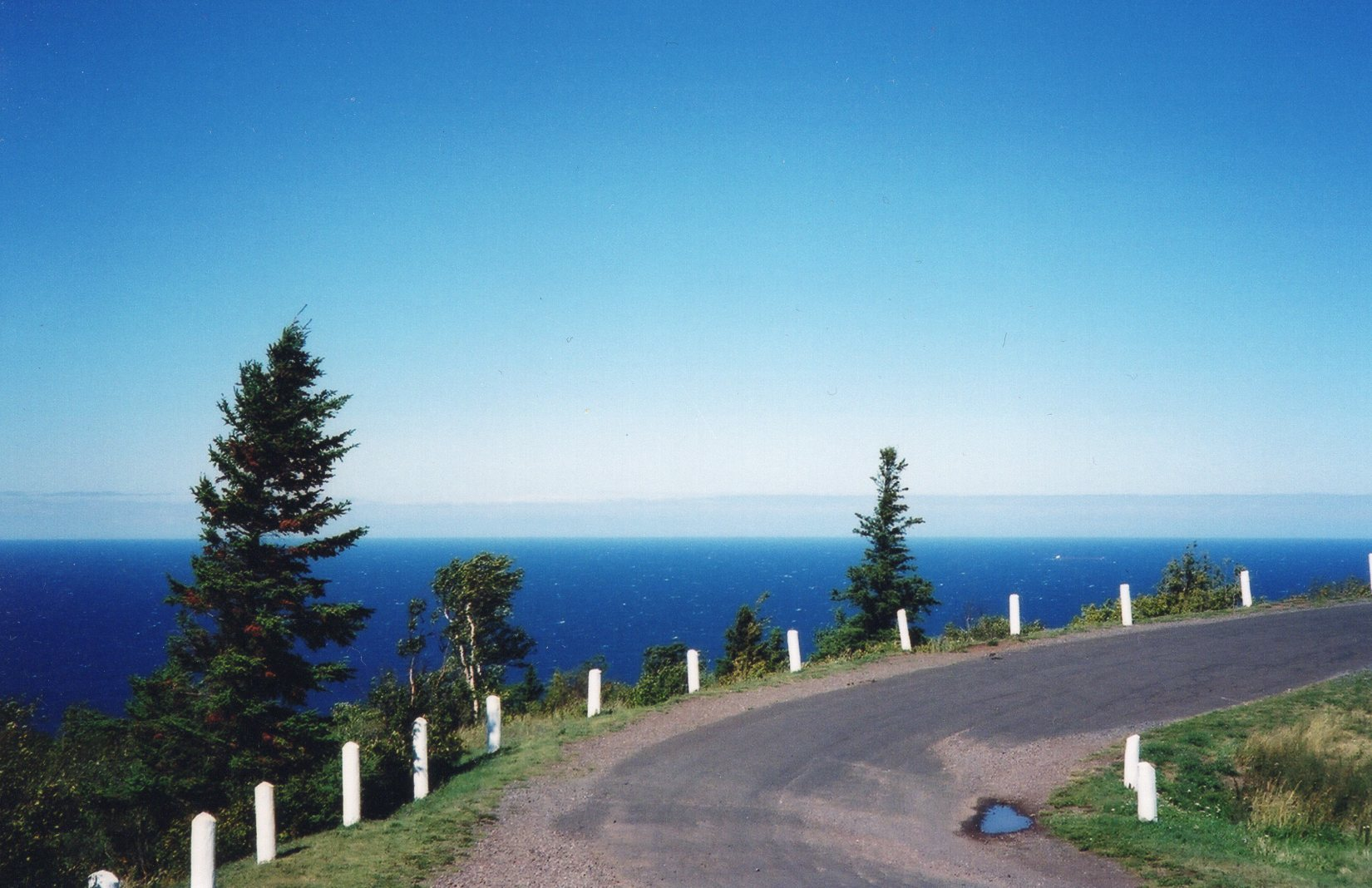 Lake Superior view from Brockway Mountain