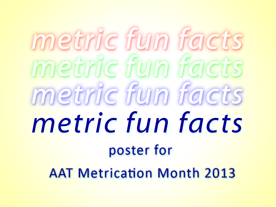 metric fun facts