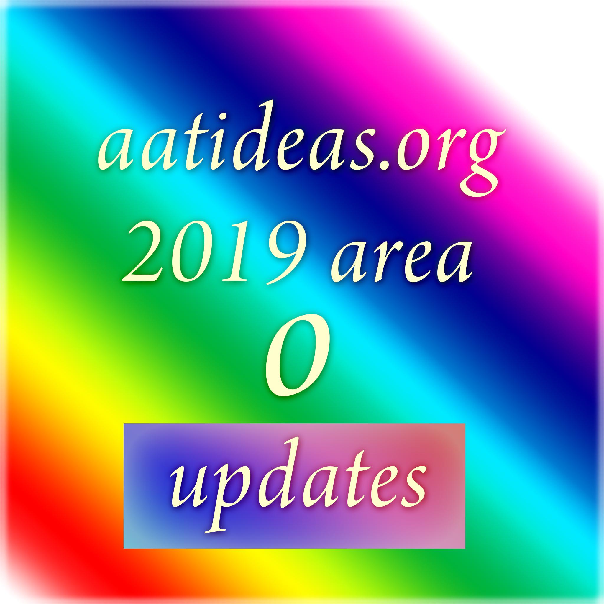 aatideas.org 2019 area o updates